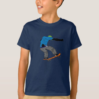 Boys skateboarder shirt