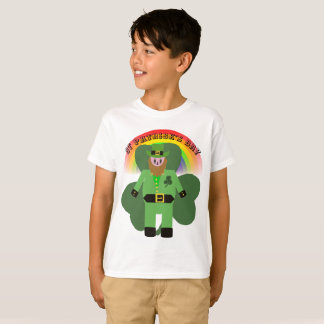 Boys St Patricks Day Leprechaun T-Shirt
