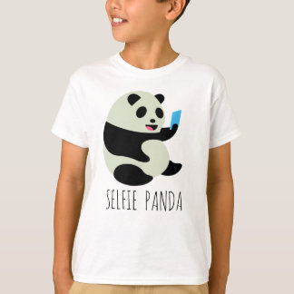 "Boy's T-Shirt: ""Selfie Panda"" T-Shirt"