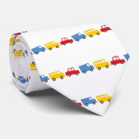 Boy's Toys Fun Cute Car Bus Truck Gift Favours Tie
