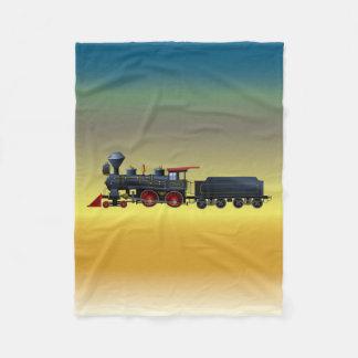 Boys Train Set Fleece