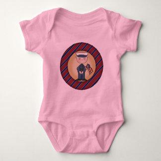 Boys US Marine Baby Bodysuit