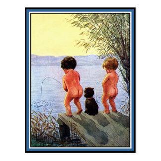 Boys Will Be Boys Postcards