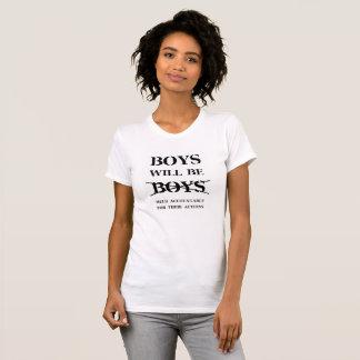 Boys will be Boys - Women's Plain T (curse free) T-Shirt