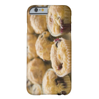 Boysenberry muffins on a platter barely there iPhone 6 case