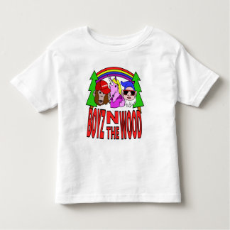 Boyz In The Wood Toddler T-Shirt