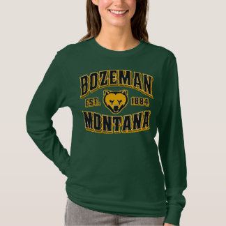 Bozeman 1884 Black & Gold T-Shirt
