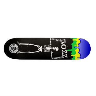 BOZZ Skeleton BRAZIL 21.6 Cm Skateboard Deck