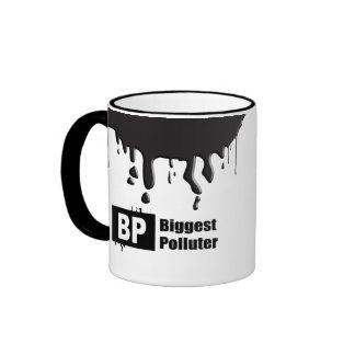 BP = BIGGEST POLLUTER RINGER MUG