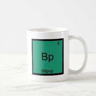 Bp - Bitpop Funny Chemistry Element Symbol T-Shirt Basic White Mug