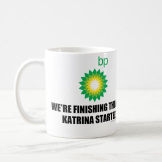BP Katrina Coffee Mug