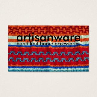 bpc Artisanware Knit Business/Profile Card