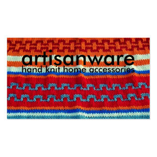 bpc Artisanware Knit Business/Profile Card Pack Of Standard Business Cards