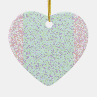 BPO Painting Ceramic Heart Decoration