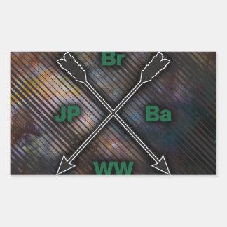Br Ba JP WW Stickers