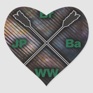 Br Ba JP WW Heart Stickers