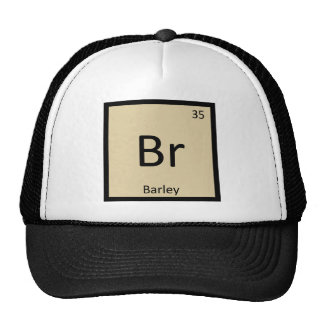 Br - Barley Soup Chemistry Periodic Table Symbol Cap