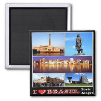 BR - Brazil - Porto Alegre - I Love Magnet
