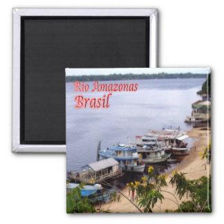BR - Brazil - Rio Amazon Magnet