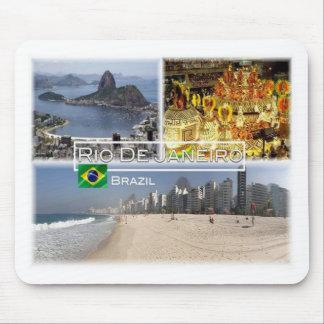 BR Brazil - Rio de Janeiro - Sugar Loaf - Mouse Pad