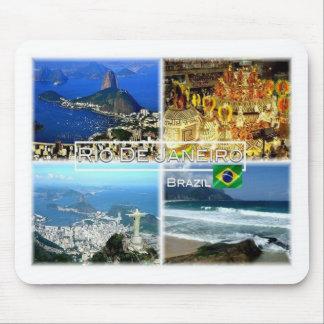 BR Brazil - Rio de Janiero - Sugar Loaf - Carnival Mouse Pad