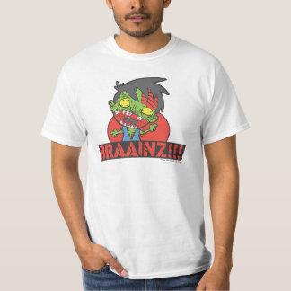 BRAAINZ!!! Zombie Shirt (BEST VALUE TEE)