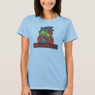 BRAAINZ!!! Zombie Shirt (Women, other Colors)