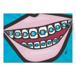 Braceface Greeting Card