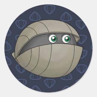Brachiopod Round Sticker