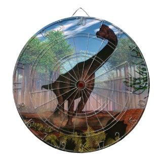 Brachiosaurus dinosaur - 3D render Dartboard
