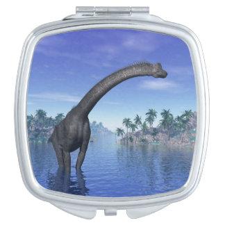 Brachiosaurus dinosaur - 3D render Vanity Mirrors