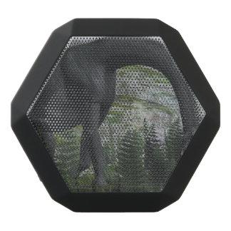 Brachiosaurus dinosaur eating fern - 3D render Black Bluetooth Speaker