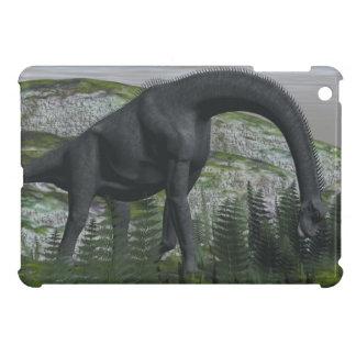Brachiosaurus dinosaur eating fern - 3D render Case For The iPad Mini