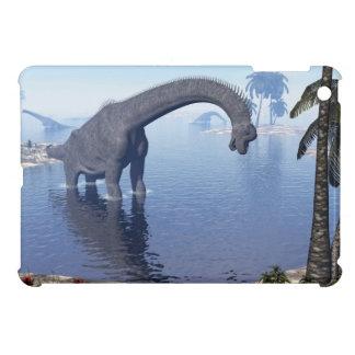 Brachiosaurus dinosaur in water - 3D render Case For The iPad Mini