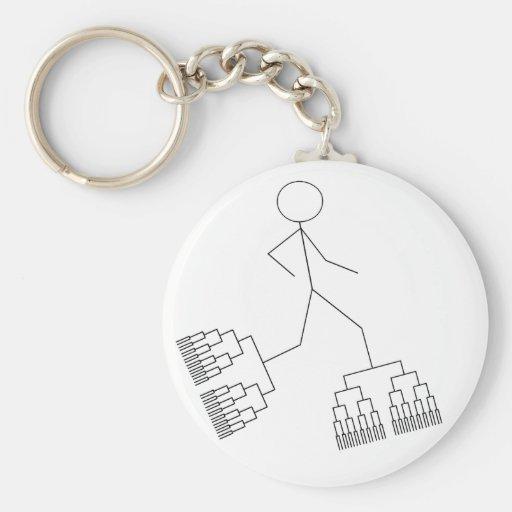 Bracket Man Key Chain