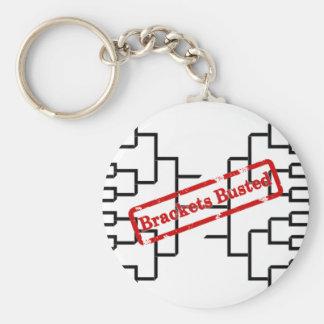 Bracketology - Brackets Busted Basic Round Button Key Ring