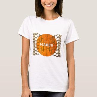 Bracketology March Basketball Awesomeness T-Shirt