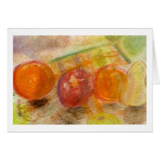 Brad Hines Fruit in Pastel Notecards Card