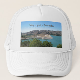 Bradbury Dam at Cachuma Lake Near Santa Ynez Trucker Hat