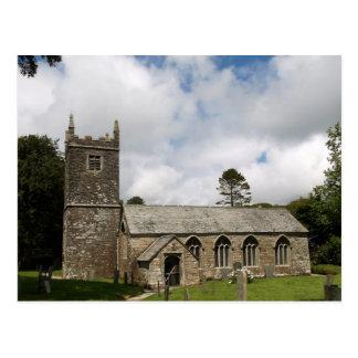 Braddock Church Cornwall England Postcard