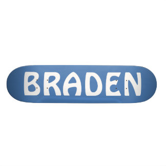 BRADEN SKATEBOARDS