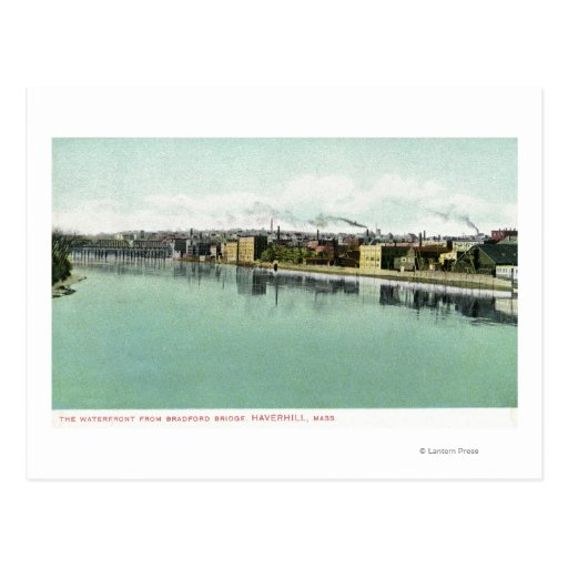 Bradford Bridge View of the Waterfront Post Cards