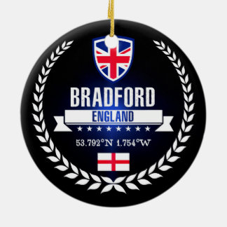Bradford Ceramic Ornament