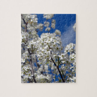 Bradford Pear Blooms Jigsaw Puzzle