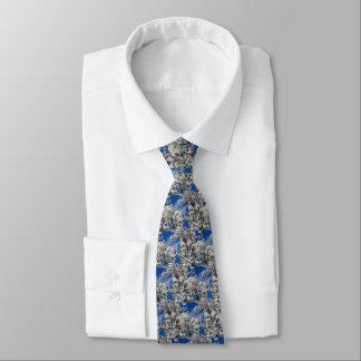 Bradford Pear Blooms Tie
