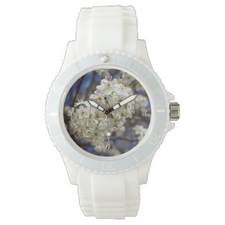 Bradford Pear Blooms Wrist Watches