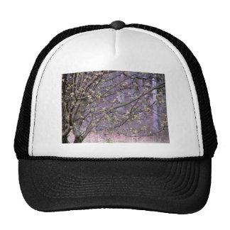 Bradford Pear Tree Buds Mesh Hat