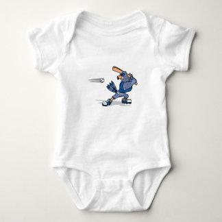 Bradley Blue Jay Baby Bodysuit