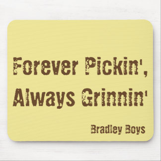Bradley Boys Signature Mouse Pad