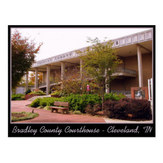 Bradley County Courthouse - Cleveland, TN Postcard
